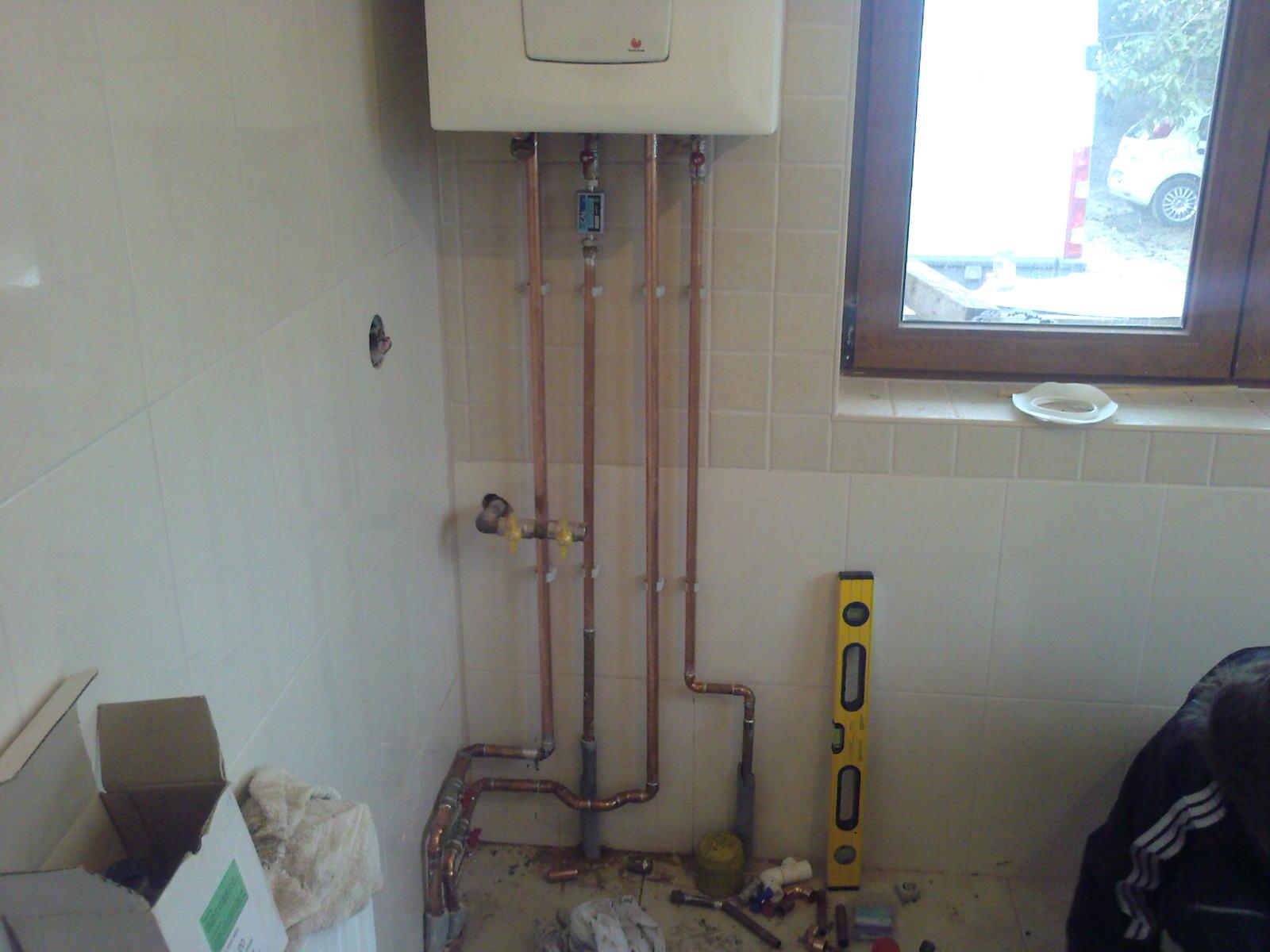 Montaj centrala termica de apartament